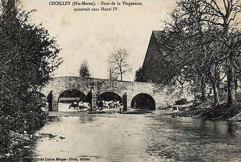 Pont Sully à Choilley