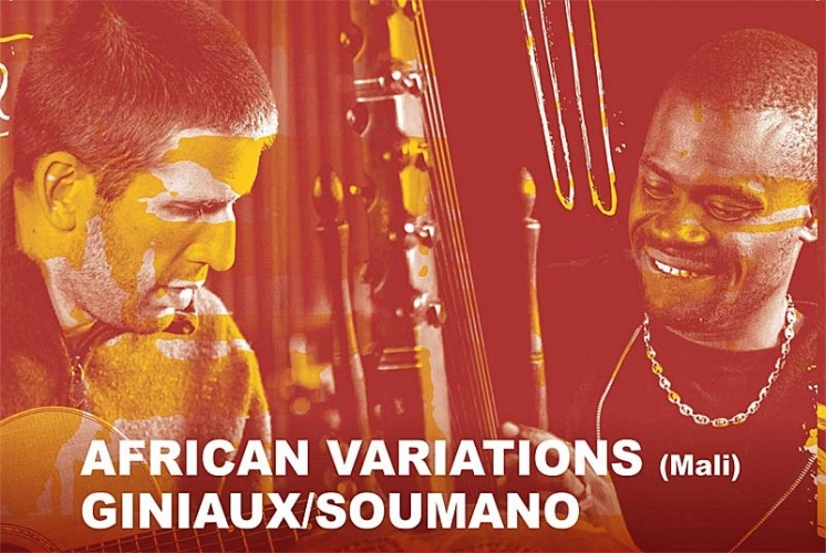 AFRICAN VARIATIONS - GINIAUX/SOUMANO