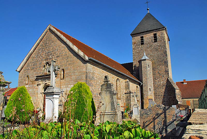 Eglise Saint Remy à Changey