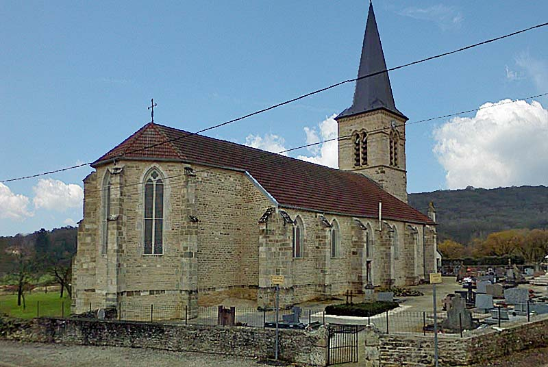 Eglise de Gilley