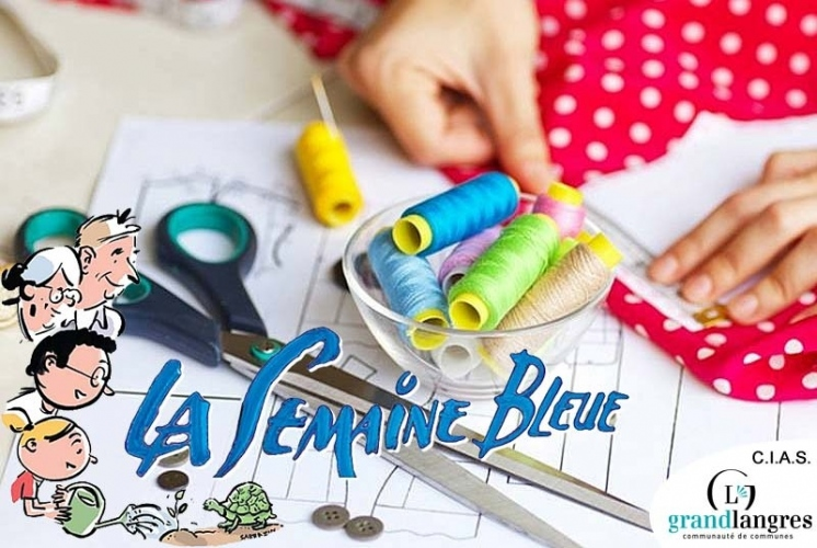 SEMAINE BLEUE : ATELIER INTERGENERATIONNEL